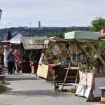 Středověký jarmark na hradbách / festival Vyšehraní 2014